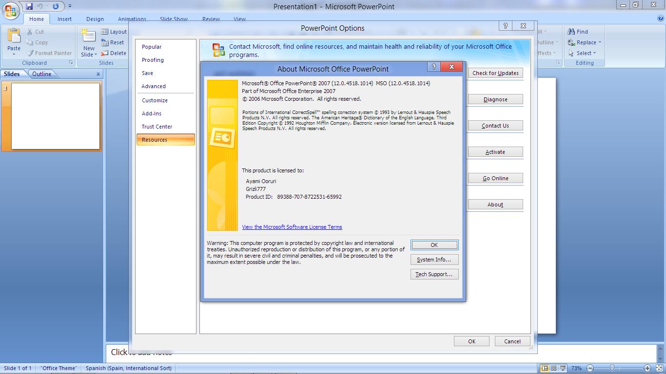 Дизайн для microsoft powerpoint 2007