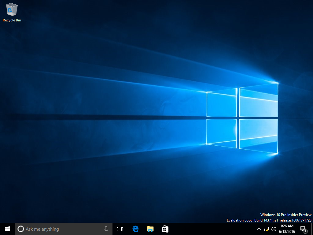 Windows 10 build 14371 - BetaWiki